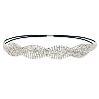 Amy O. Bridal Crystal Intertwining Headband