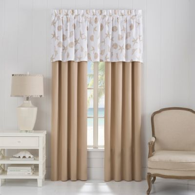 Delora Window Valance in Pepper