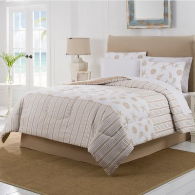 Delora 8-Piece Queen Comforter Set in Pepper