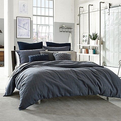 Kenneth Cole Reaction Home Douglas Reversible Duvet Cover