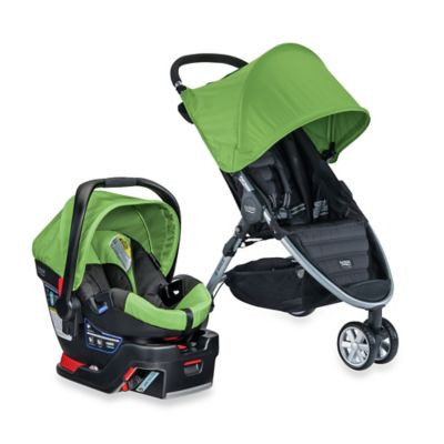 BRITAX B-Agile 3/B-Safe 35 Travel System in Meadow