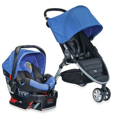 BRITAX B-Agile 3/B-Safe 35 Travel System in Sapphire
