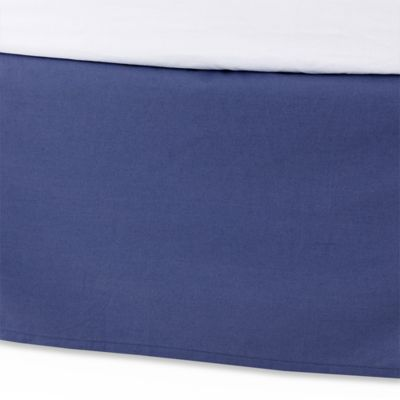 Kenneth Cole Reaction Home Douglas Twin Bed Skirt in Navy