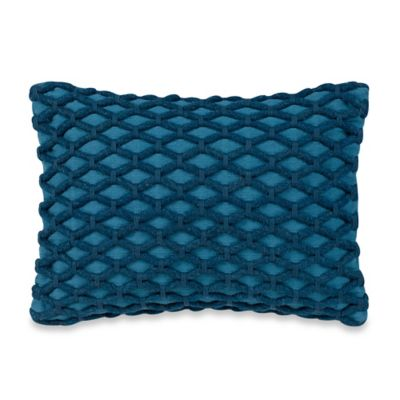 Studio 3B™ by Kyle Schuneman Beckett Oblong Throw Pillow in Teal