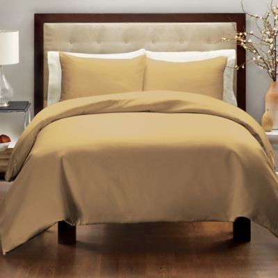 Wamsutta® 400-Thread-Count Twin Duvet Cover Set in Navy