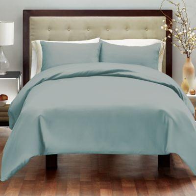 Aqua Solid Duvet Covers