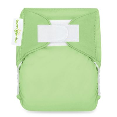 bumGenius™ All-In-One Newborn X-Small Stay Dry Cloth Diaper in Grasshopper