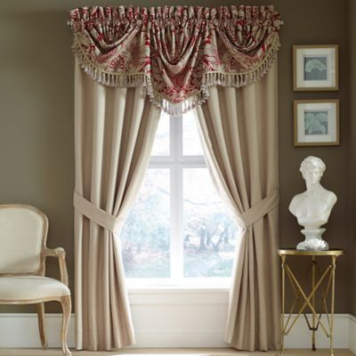 Croscill® Avery Window Valance in Red