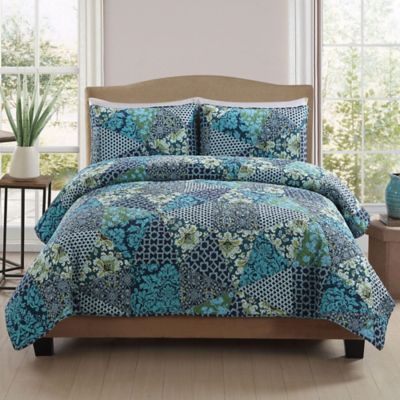 Dresden King Quilt Set