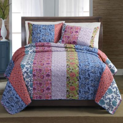 Newberry Stripe Full/Queen Quilt Set