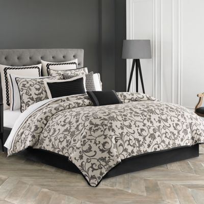 Wedgwood® Acanthus King Duvet Cover Set