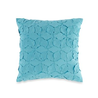 Teen Vogue® Electric Beach Square Throw Pillow in Coral