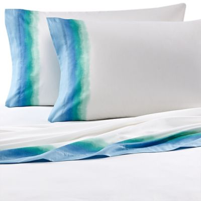 Teen Vogue® Electric Beach Full Sheet Set in Blue/Green