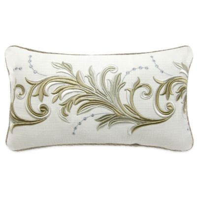 Croscill® Avery Boudoir Throw Pillow in Ivory