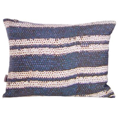 Belle Epoque Pinpoint Striped Oblong Throw Pillow