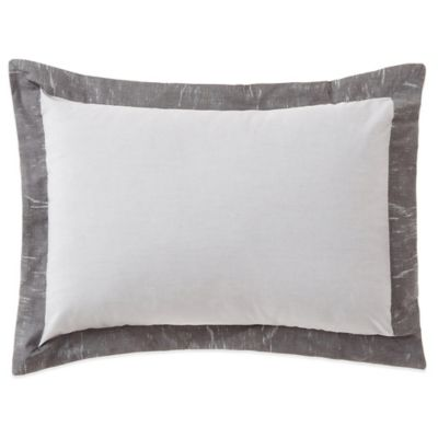 Belle Epoque Home Concept Rainfall Boudoir Throw Pillow in Grey