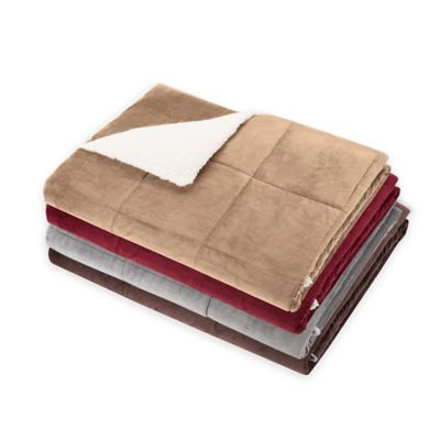 So Soft™ Plush Throw in Brown
