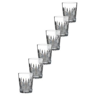 Waterford® Lismore Diamond Double Old Fashioned Glasses (Set of 6)
