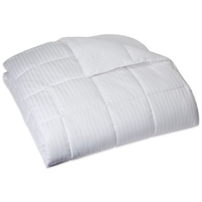 GoodNight Sleep® 400-Thread-Count Cotton Twin Comforter in White