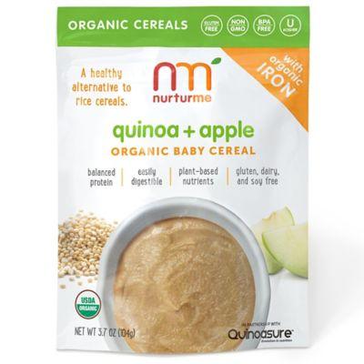 Food > NurturMe 3.7 oz. Quinoa + Apple Organic Baby Cereal