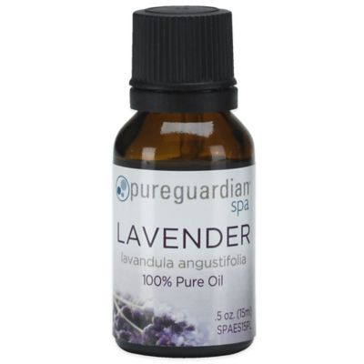 PureGuardian® 0.5 oz. Pure Lavender Spa Oil
