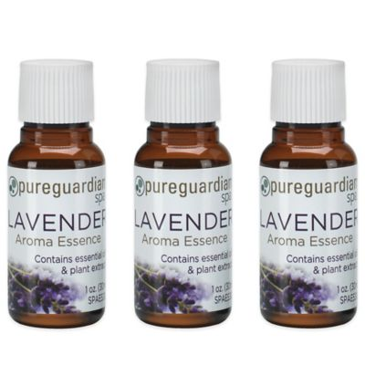 PureGuardian® 3-Pack 1 oz. Pure Lavender Spa Oil