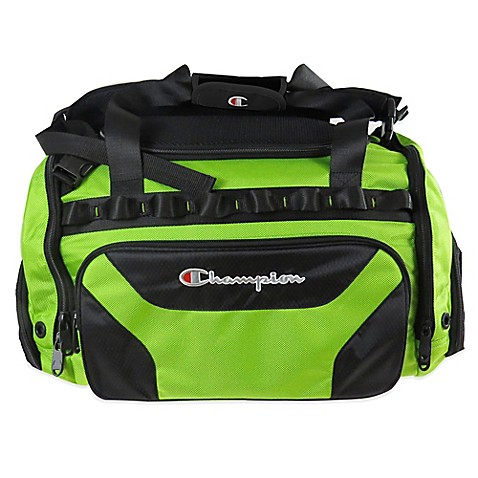 Buy Champion 174 Concrete 22 Inch Duffle Bag In Black Lime