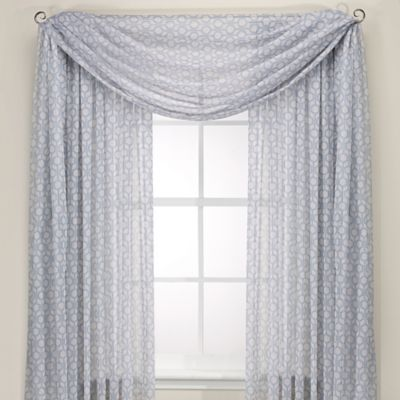 Cloud Window Valance