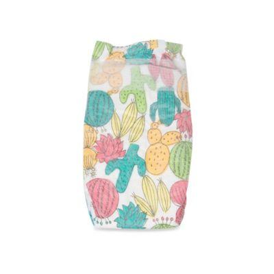 Honest 34-Pack Size 3 Diapers in Desert Flowers Pattern