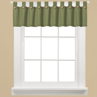 Westlake Window Curtain Valance in Sage