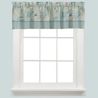 High Tide Kitchen Window Valance