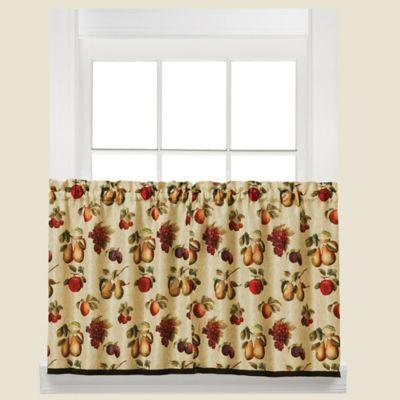 Grape Kitchen Curtains