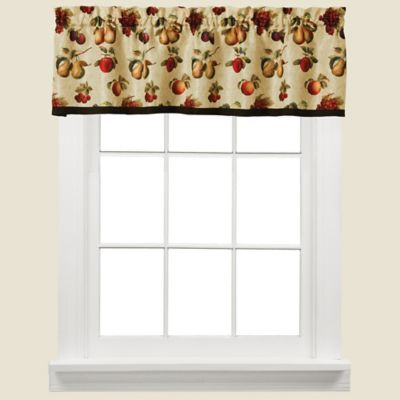 Fruits Du Marche Kitchen Window Valance