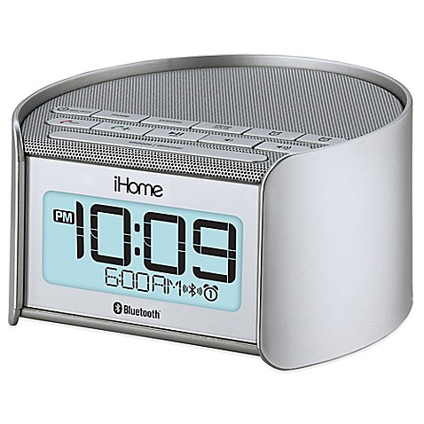 Buy Ihome 174 Ibt230ssc Dual Alarm Clock And Radio With