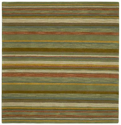 Kaleen Tara Twilight 5-Foot 9-Inch Square Area Rug in Natural