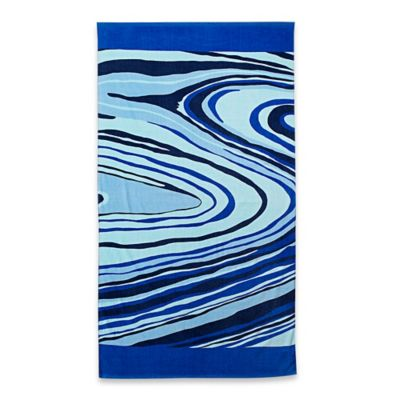 Marble Sand Art Beach Towel