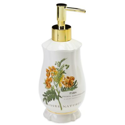 Avanti Alana Lotion Dispenser in Ivory