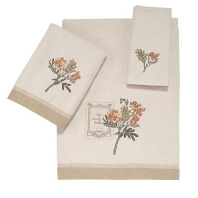Avanti Alana Fingertip Towel in Ivory