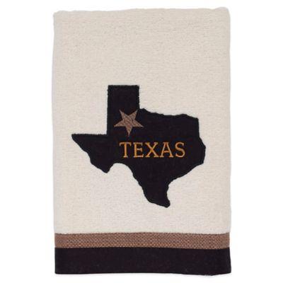 Lone Star Map Hand Towel