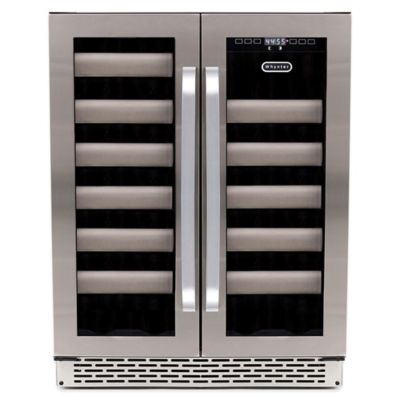 Whynter Elite BWR-401DS 40-Bottle Stainless Steel Dual-Zone Wine Refrigerator