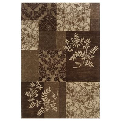 Bombay® Chenille Tapis 2-Foot x 8-Foot Runner in Brown