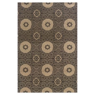 Bombay® Chenille Tapis 2-Foot x 8-Foot Suzi Rug in Charcoal