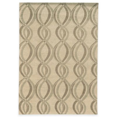 Bombay® Chenille Tapis 5-Foot x 7-Foot Infinite Rug in Ivory