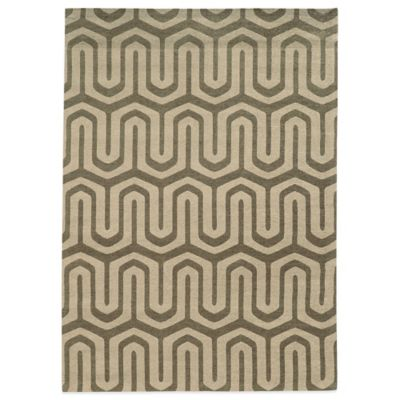 Bombay® Chenille Tapis 5-Foot x 7-Foot Maze Rug in Grey