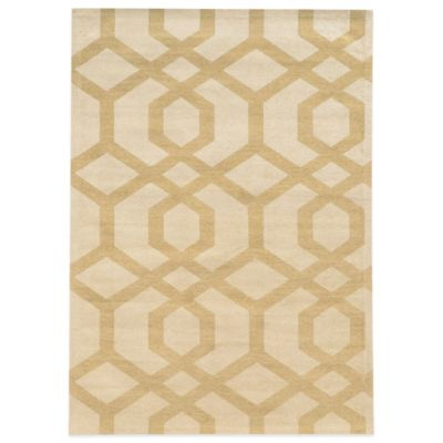 Bombay® Chenille Tapis 5-Foot x 7-Foot Chain Rug in Ivory