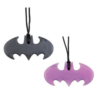 Bumkins® DC Comics Silicone Batgirl Teething Pendant Necklace
