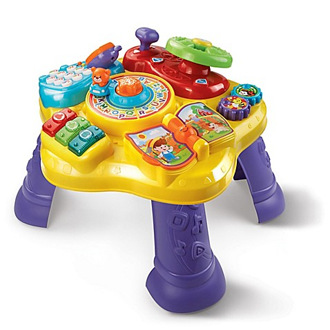 Vtech Super Star Learning Table Www Buybuybaby Com