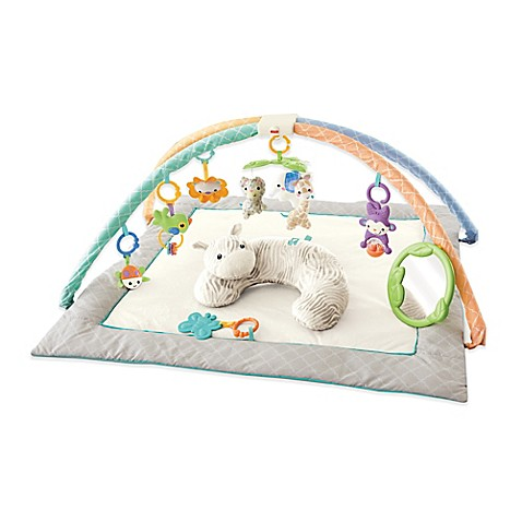Fisher Price 174 Safari Dreams Deluxe Cuddle Gym Buybuy Baby