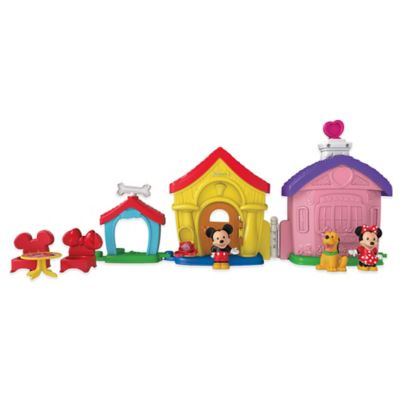 Fisher-Price® Little People® Mickey and Minnie's House Play Set