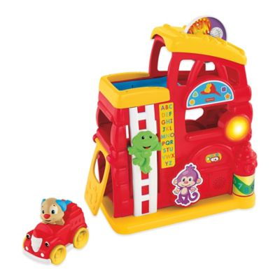 Fisher Price® Laugh & Learn™ Monkey's Smart Stages™ Firehouse